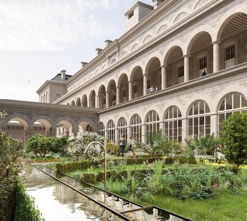 Hôtel-Dieu (IVe). Un pôle santé de 10 000 m2