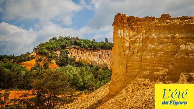 Rustrel, le Colorado du Luberon