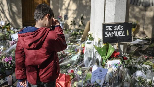 Assassinat de Samuel Paty: l'électrochoc