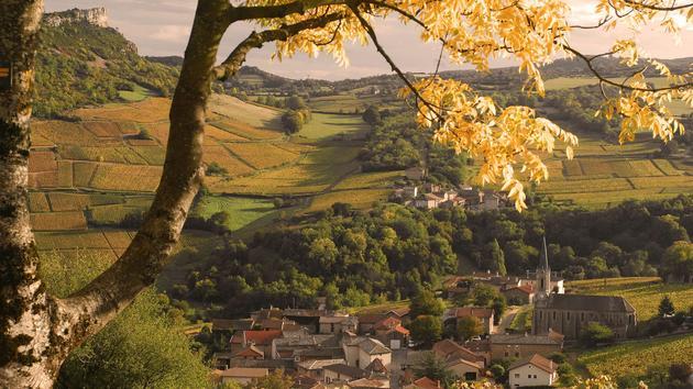 Bourgogne: balade automnale au pays de LamartinePratique