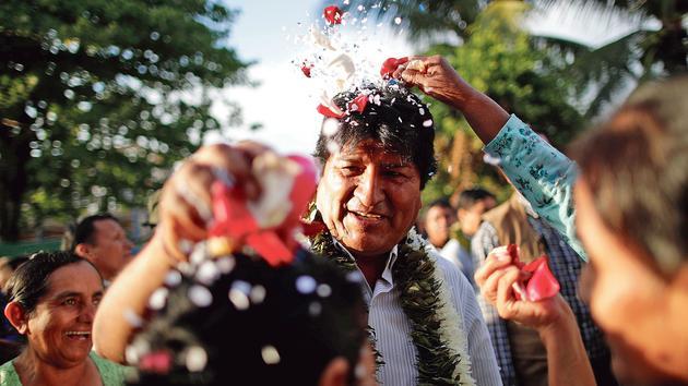 Bolivie: Evo Morales, l'agitateur épris de stabilité