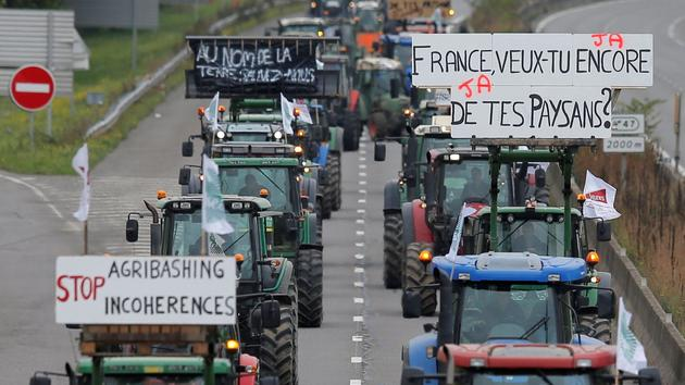 Nouvelle journée de colère pour les agriculteurs