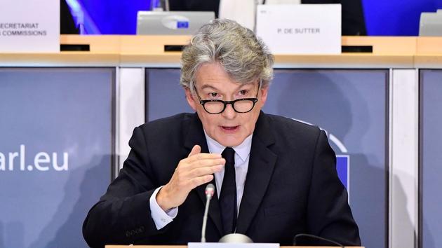 Commission européenne: feu vert des eurodéputés à Thierry Breton