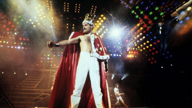 nxychunmei GHNMRock Chanteur Freddie Mercury Bande de caract/ères Reine plaqu/é Argent pi/èce comm/émorative Freddie Mercury Fan Cadeau Collection Jouet Taille : 40 * 3mm Environ 40g