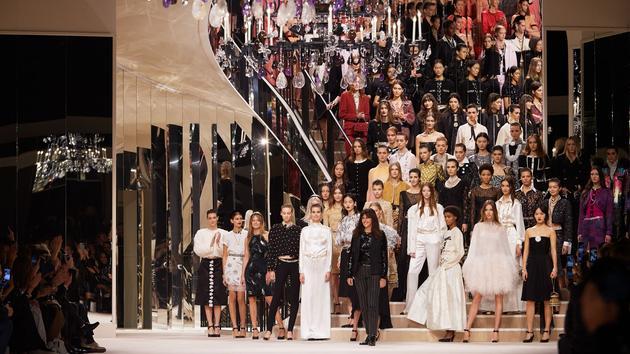 Chanel magnifie le 31 rue Cambon  au Grand Palais