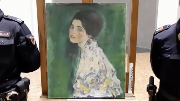 La police italienne pense avoir retrouvé un précieux tableau de Gustav Klimt