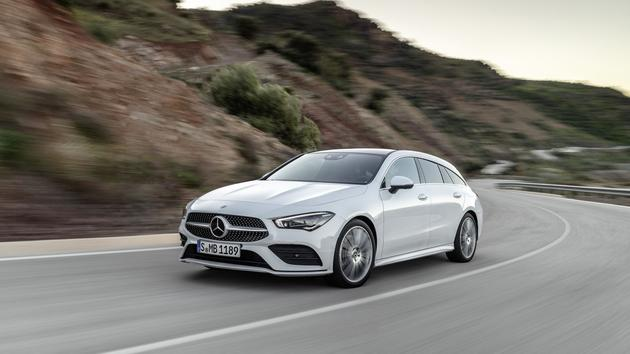 Mercedes CLA Shooting Brake, un break à couper le souffle