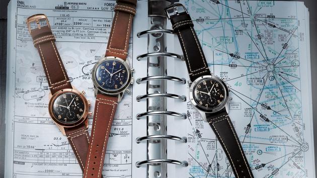Breitling réédite sa montre d'aviateur de 1953