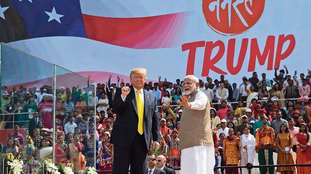 Trump et Modi affichent leur partenariat face à la Chine