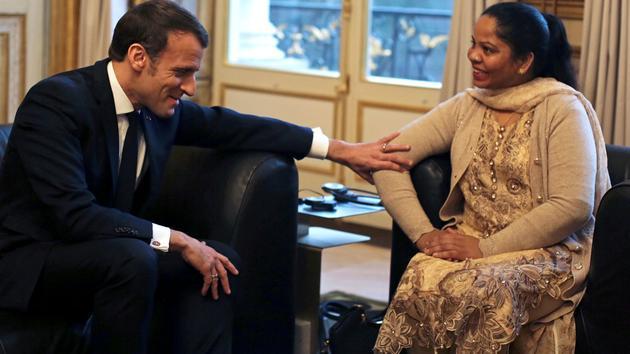 Asia Bibi reçue par le chef de l'État