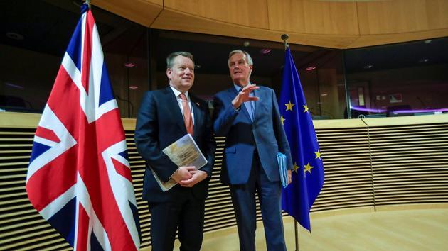 Brexit: le divorce britannique avec l'UE,victime collatérale du coronavirus