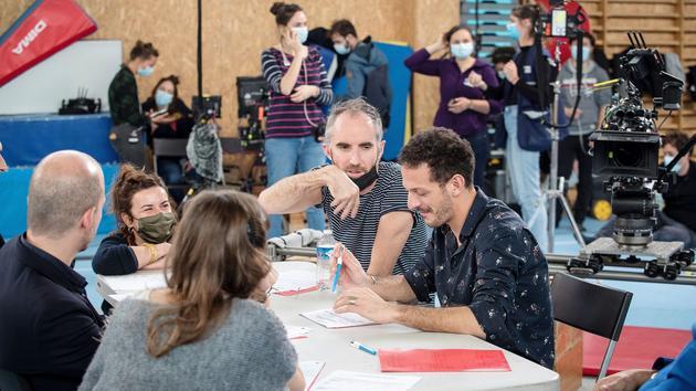 Une journée sur le tournage d'Oranges sanguines, le nouveau film de Jean-Christophe Meurisse