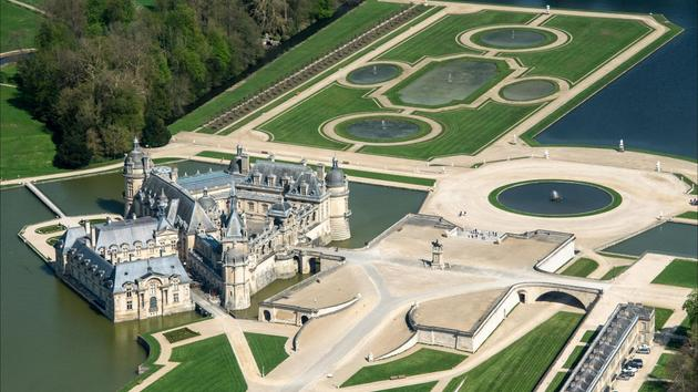 L'appel à l'aide du château de Chantilly
