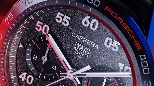 Porsche et TAG Heuer dévoilent une Carrera en commun EXCLUSIF - Le Figaro
