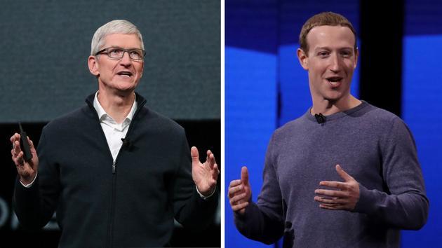 Apple et Facebook, de l'inimitié à la guerre RÉCIT - Le conflit entre les PDG Cook - Le Figaro