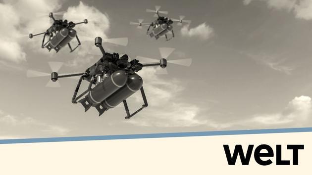 Drones militaires: la guerre du futur VU D'AILLEURS - Peu coûteux et efficaces, les véhicules aériens - Le Figaro