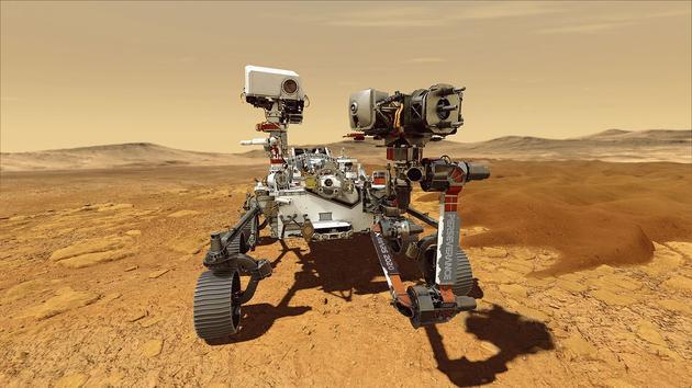 Le rover Perseverance commence son exploration de la planète Mars - Le Figaro