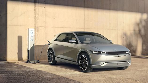 Hyundai Ioniq 5, un crossover électrique - Le Figaro