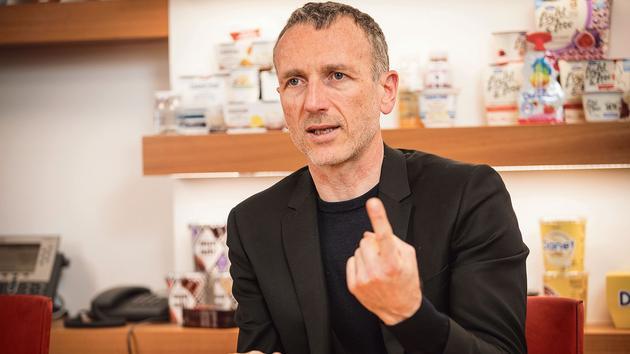 Le combat d'Emmanuel Faber pour sauver sa tête chez Danone - Le Figaro