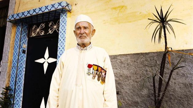 À 103 ans, un goumier marocain mis à l'honneur