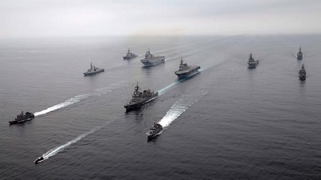 La marine française participe à des manœuvres inédites dans la zone indopacifique