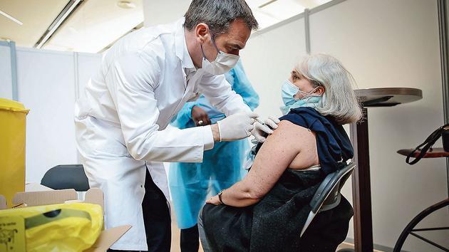 L'effet de la vaccination sur l'épidémie est déjà visible