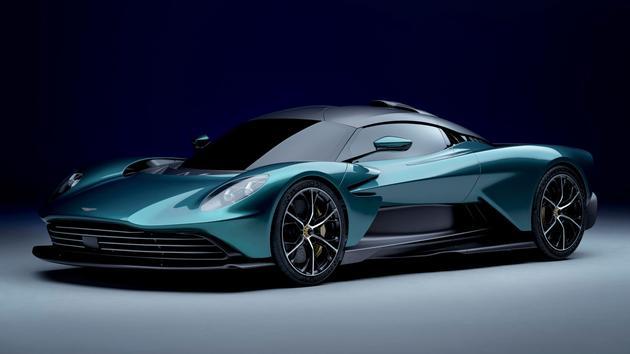 Aston Martin Valhalla, une supercar électrifiée