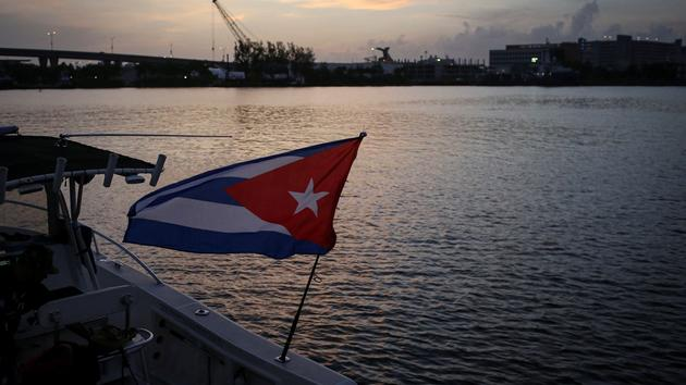 Une flottille anticastriste défie La Havane