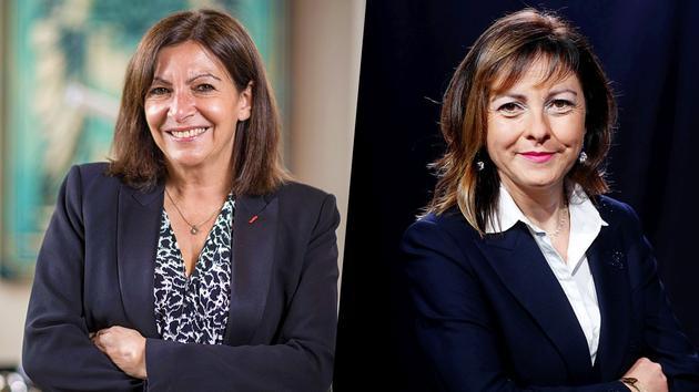 Présidentielle: chez les socialistes, le match Anne Hidalgo - Carole Delga