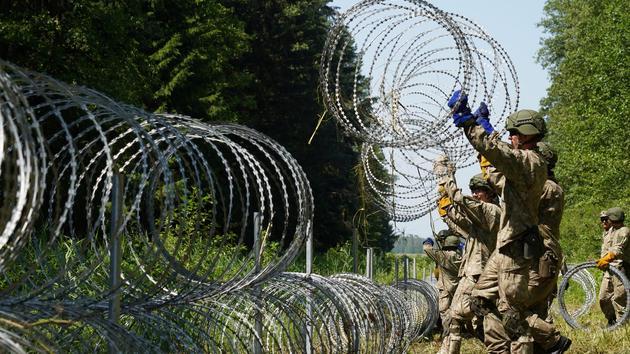 Crise migratoire: la Lituanie soumise au chantage par Minsk