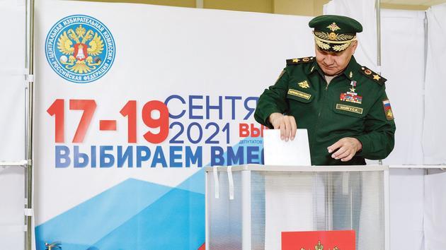 Poutine verrouille les élections à la Douma