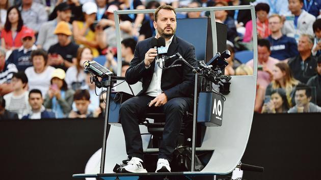 Tennis: Damien Dumusois, le premier arbitre français à réussir le Grand Chelem