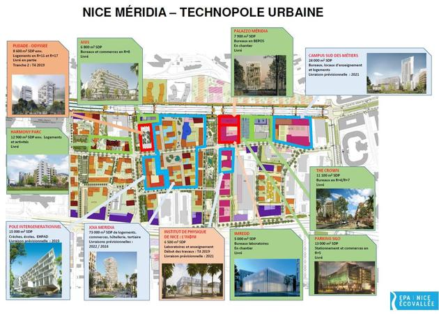 2020-03-02-quartier NICE MERIDIA (24 hectares) - TECHNOPOLE URBAINE