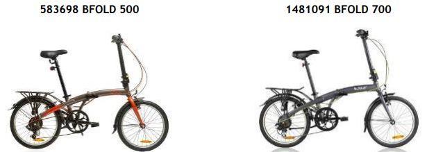 Décathlon rappelle des vélos B'fold défectueux