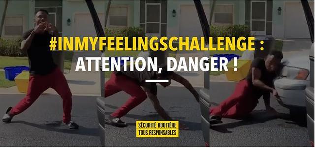#InMyFeelingsChallenge, le défi dangereux puni de 4 500 € d'amende et de 2 ans de prison