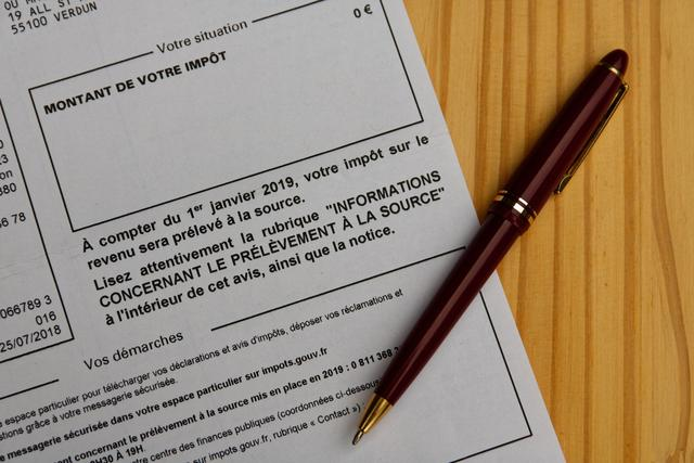 Le barème de l'impôt sur le revenu pour 2019