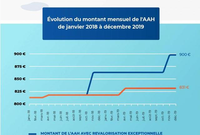 L Allocation Aux Adultes Handicapes Passe A 860 Par Mois