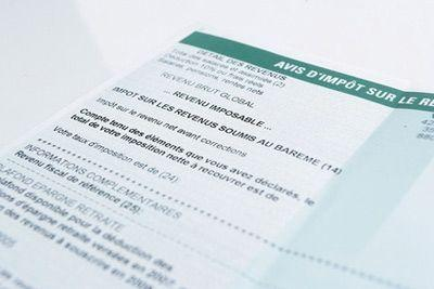 Les déclarants sur papier peuvent choisir leur taux de prélèvement à la source