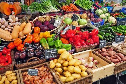 +4,5 % sur le prix des fruits et légumes