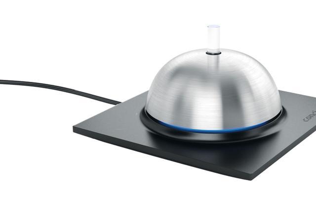 Bouton connecté : CONCIERGE - CONCIERGE, une sonnette de palace pour contrôler toute la maison