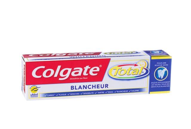 Derrière l'étiquette... le dentifrice