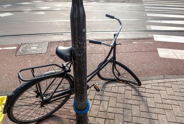 Les vélos abandonnés sont enlevés et détruits
