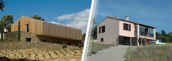 Avant-après: du petit pavillon des années 1980 à la villa contemporaine