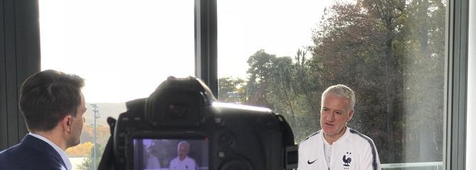Didier Deschamps à l'honneur dans Tout le sport sur France 3