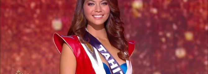 Miss France 2019 est Miss Tahiti