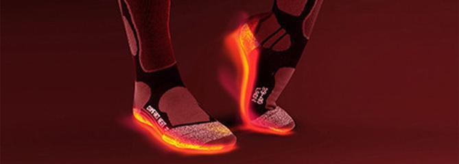 Comparatifs chaussettes chauffantes
