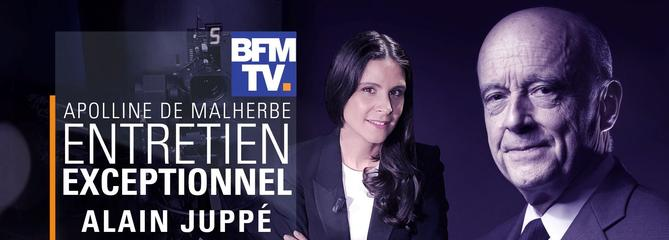 BFMTV annule son entretien exclusif avec Alain Juppé