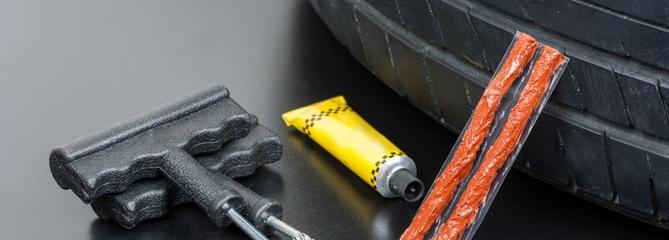 Comparatif kit de réparation pneu