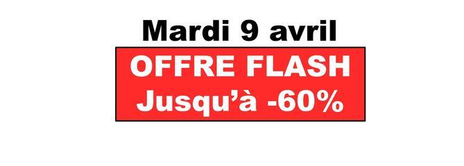 Mardi 9 avril : Sélection des offres flash sur les ventes Printemps d'Amazon