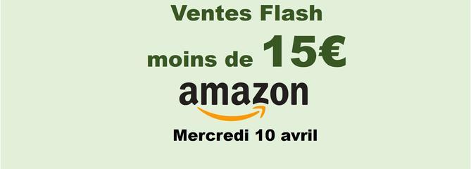 Ventes Flash : notre sélection d'offres Amazon à moins de 15 euros